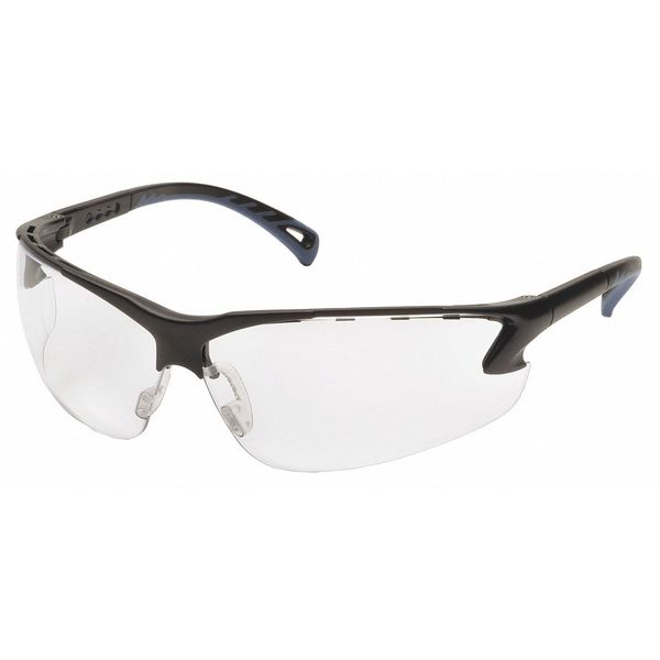 Pyramex Venture 3 Safety Glasses,  Clear Anti-Fog,  Anti-Static,  Scratch-Resistant Lens SB5710DT