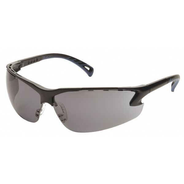 Pyramex Venture 3 Safety Glasses,  Gray Anti-Fog,  Anti-Static,  Scratch-Resistant Lens SB5720DT