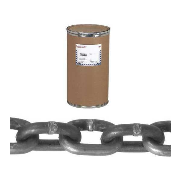 "Campbell 1/8"" Grade 30 Proof Coil Chain,  Hot Galvanized,  1,000' per Drum T0120232"