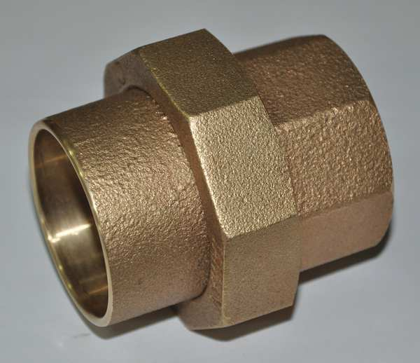 "Zoro Select 1-1/2"" NOM C Copper Union,  Standards: ANSI B16.18 24W573"