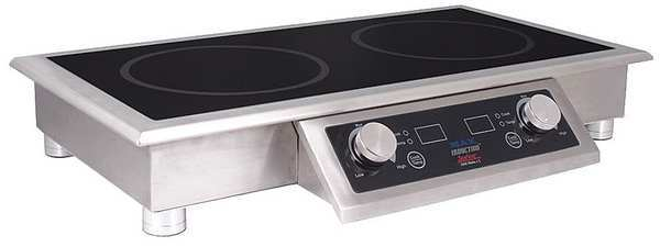 Spring Usa Ind Cooking Range, Drop-In/Portable, 5000W SM-251-2CR
