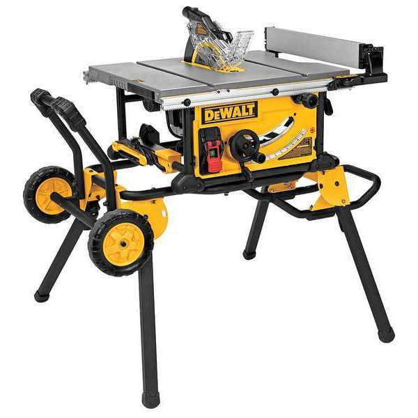 Dewalt Table Saw,  10 in. DWE7491RS
