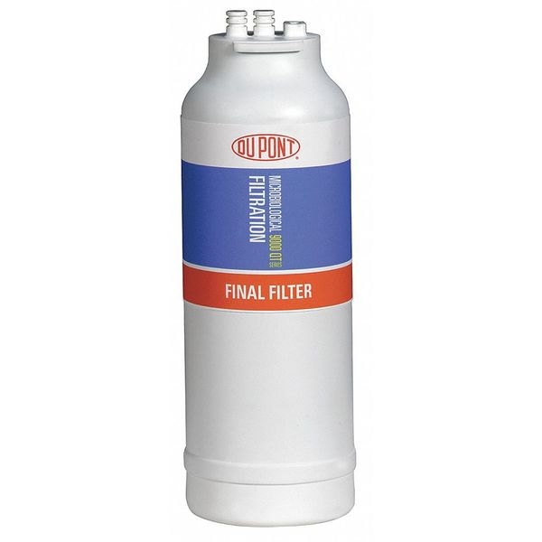 """Dupont 0.001 Micron,  4-1/2"""" O.D.,  13 in H,  Replacement Filter Cartridge WFQTC90001"""