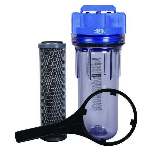 Dupont Water Filter System, Blue/Clr, 5 gpm WFPF38001C