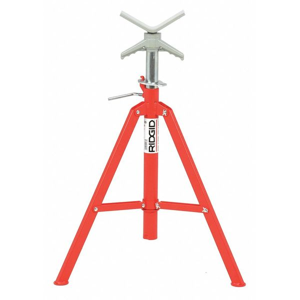 Ridgid V-Head Pipe Stand, 12 In. 22168