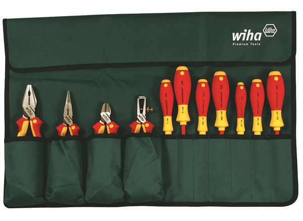 Wiha Tools Insulated Tool Set, 11 pc. 32986