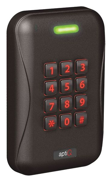 Schlage Electronics Access Control Keypad, Black, 5-7/64 in. H MTK15