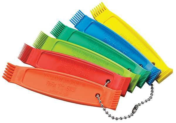 Yellow Jacket Fin Comb Kit, 8 to 20 Fins per In. 61158