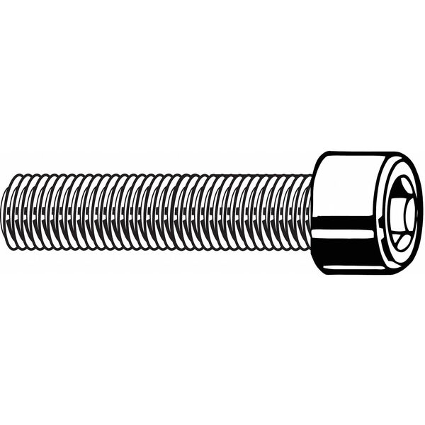 Fabory M10-1.50 Cylindrical Socket Head Cap Screw,  25 mm L,  100 PK M07000.100.0025