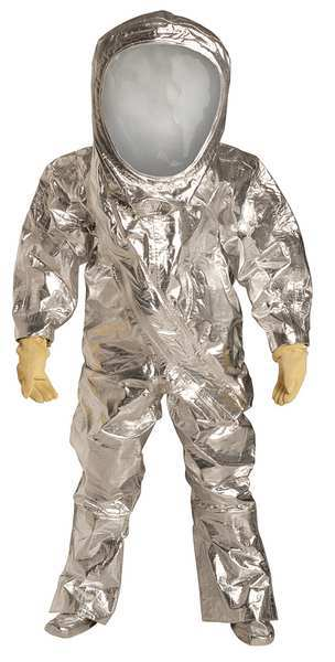 Dupont Encapsulated Suit, Level A, Front Entry, S RF600TSVSM000100