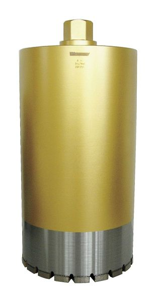 Westward Core Bit,  1-1/4-7 , 8 In, 16 In, Concrete 29FZ51