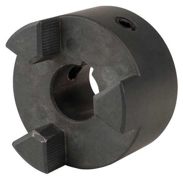 "Dayton Jaw Coupling Hub, L095, Sintered Iron, 1"" 29HY90"