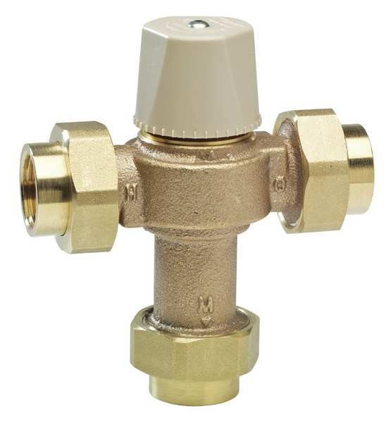 Watts Thermostatic Mixing Valve, 1/2 in. LFMMV-M1-UT