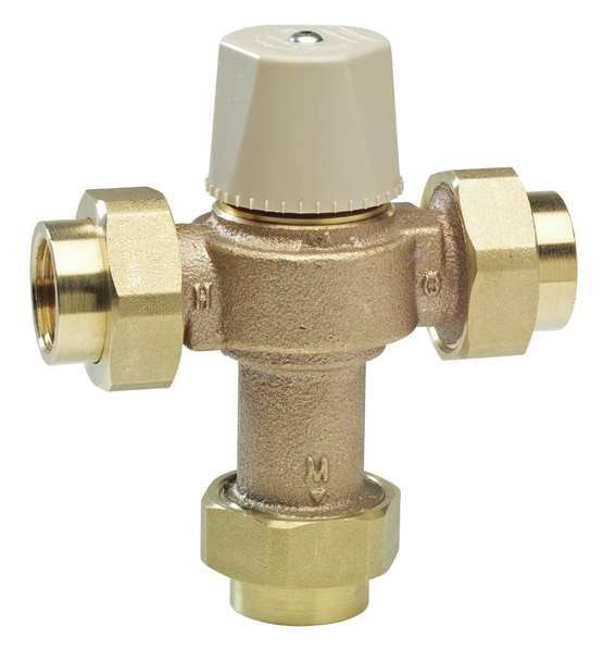 Watts Thermostatic Mixing Valve, 3/4 in. LFMMV-M1-UT