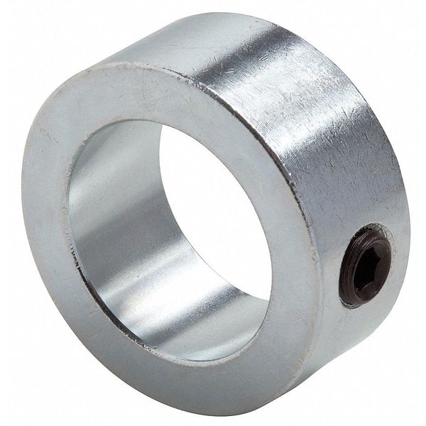 Climax Metal Products Shaft Collar, Set Screw, 1Pc, 1 In, St, PK3 C-100X3
