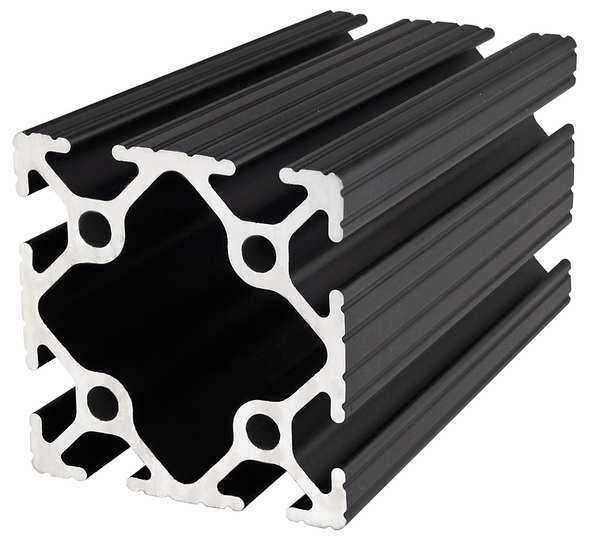 80/20 Framing Extrusion, T-Slotted, 10 Series 2020-BLACK-145