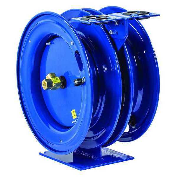 Coxreels Combination Air/Water Reel,  3/8 in Hose Dia.,  25 ft. Length,  300 psi C-LPL-325-325