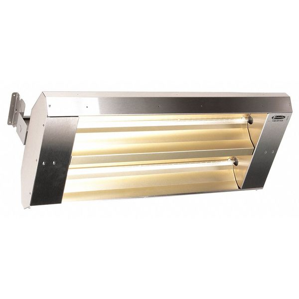 Fostoria Electric Infrared Heater,  Ceiling,  Suspended,  304 Stainless Steel 342-90-THSS-480V