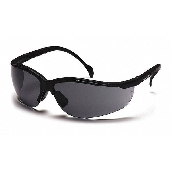Pyramex Safety Glasses,   Gray Lens,  Scratch-Resistant SB1820S