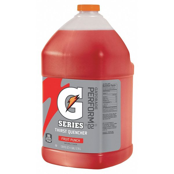 Gatorade Sports Drink Liquid Concentrate 1 gal.,  Fruit Punch 33977