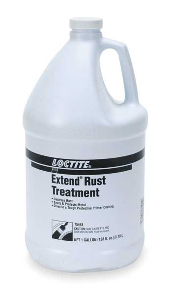Loctite Rust Treatment, 1 Gal Btl, Opaque Extend 160802