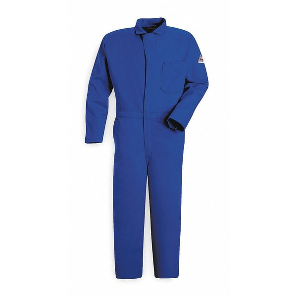 Bulwark FR Contractor Coverall, Blue, 2XL, HRC2 CEC2RB RG 52