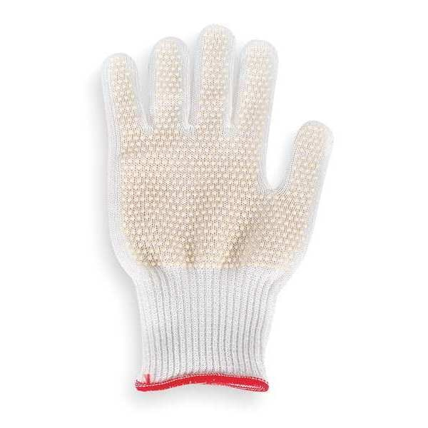 Showa Cut Resistant Glove, White, Reversible, L 910C-09