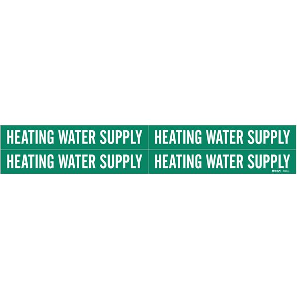 Brady Pipe Mkr, Heating Water Supply, 3/4to2-3/8 7366-4
