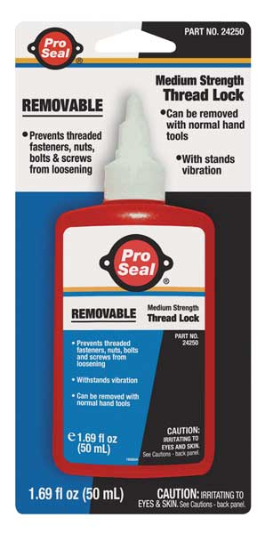 Pro Seal Removable Threadlocker, 50mL Bottle, Blue 24250
