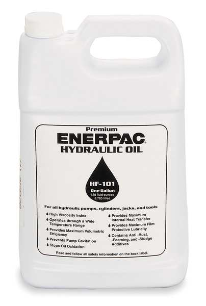 Enerpac 1 gal Hydraulic Oil Can 32 ISO Viscosity,  Not Specified SAE HF-101
