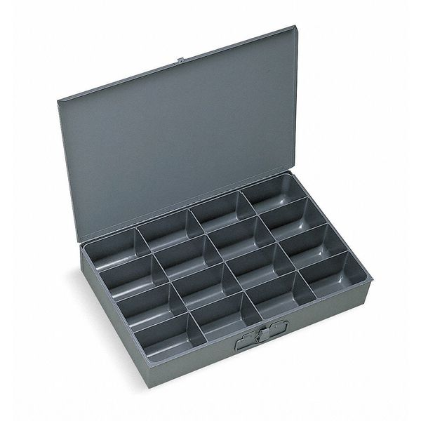 Durham Mfg Compartment Box,  12 In D,  18 In W,  3 In H,  Compartments per Drawer: 16 113-95-D567
