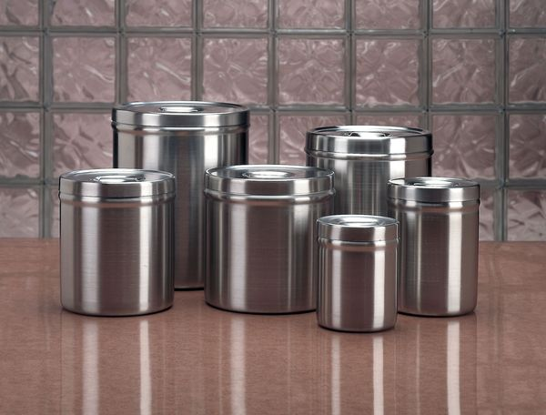 Zoro Select Dressing Jar, 4-1/2 qt., Stainless Steel 88040