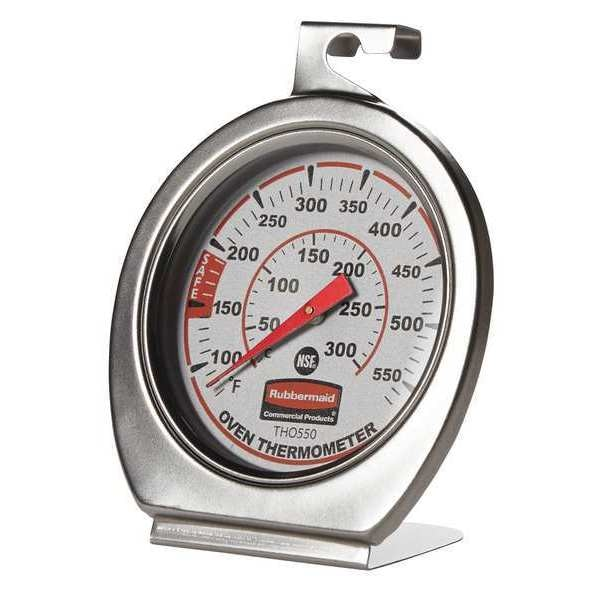Rubbermaid Analog Mechanical Food Service Thermometer with 60 to 580 (F) FGTHO550