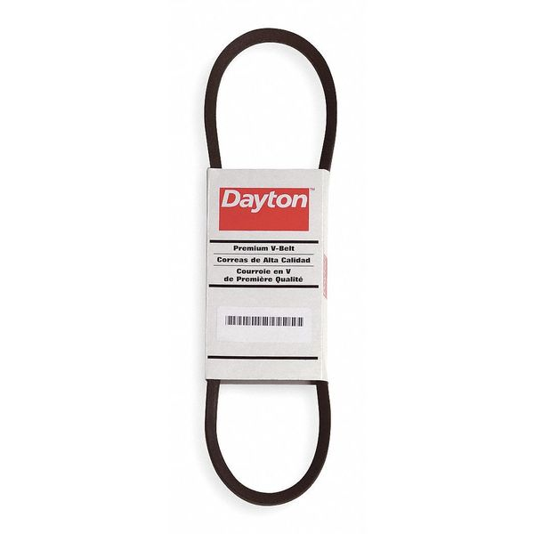 "Dayton 4L330 V-Belt,  Outside Length 33"" 4L330"