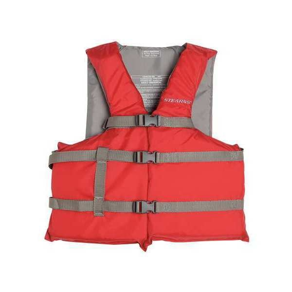 Stearns Flotation Device, General, Red 3000004474