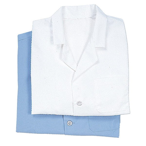 Vf Imagewear Counter Coat, XL, White, 30 In. L, Male KP10WH RG XL