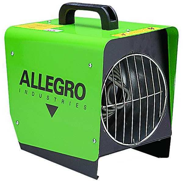 Allegro Portable Electric Ducted & Tent Heater,  1500W,  120V AC,  1 Phase 9401-50