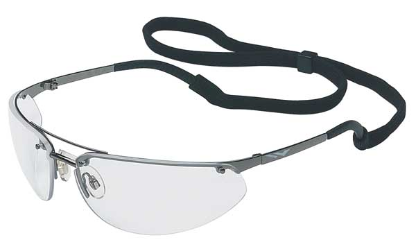 Honeywell Uvex Fuse Safety Glasses With Gun Metal Gray Frame And Clear Anti-Fog Lens 11150805