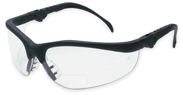 Mcr Safety Reading Glasses, +1.5, Clear, Polycarbonate K3H15