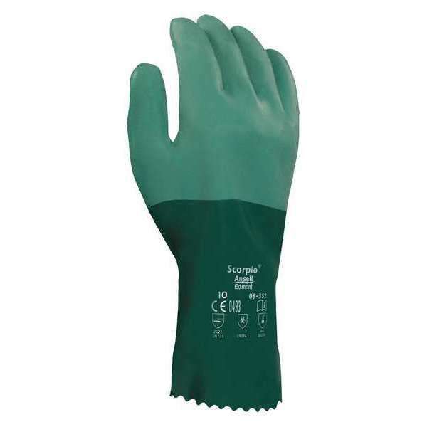 """Ansell Scorpio® Chemical Resistant Glove, 12"""" L, Size 9, 1PR 08-352"""