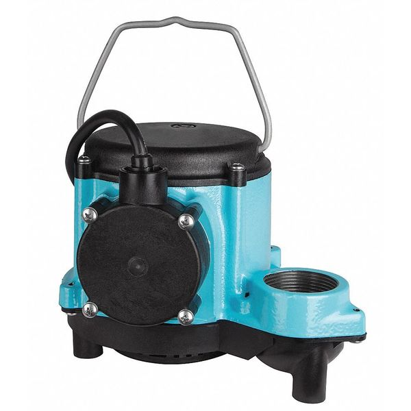"""Little Giant 4/10 HP 1-1/2"""" F Submersible Sump Pump 115V None 8-CIM"""