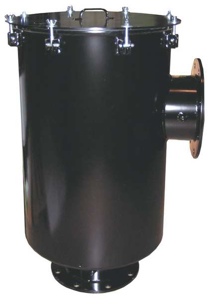 Solberg Inlet Filter, 6 In Flange, 1100 Max CFM CSL-375P-600F