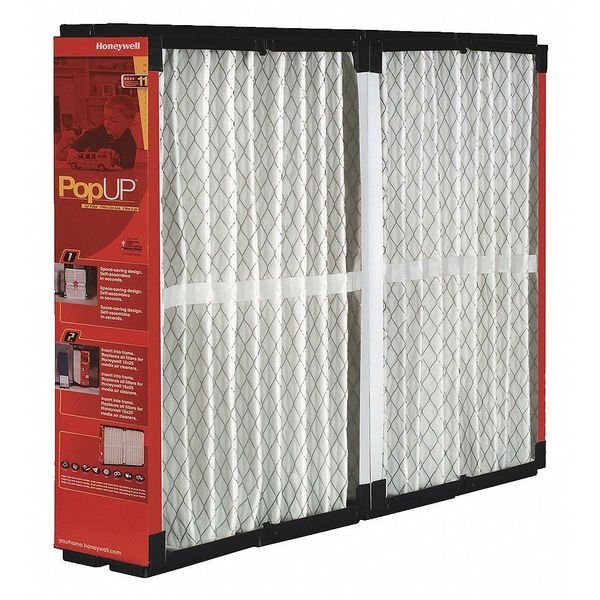 Honeywell 21x25x6 Synthetic Furnace Air Cleaner Filter,  MERV 11 POPUP2200