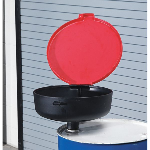 Ultratech Drum Funnel with Lid, 22 In, with Spout 656