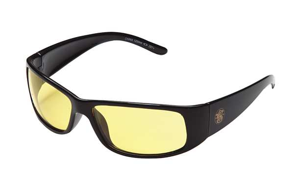 Smith & Wesson Elite Safety Glasses,  Amber Anti-Fog,  Scratch-Resistant Lens 21305
