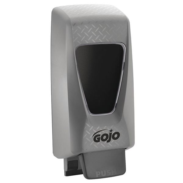 Gojo Soap Dispenser,  2000 mL ,  Push-Style,  Gray 7200-01