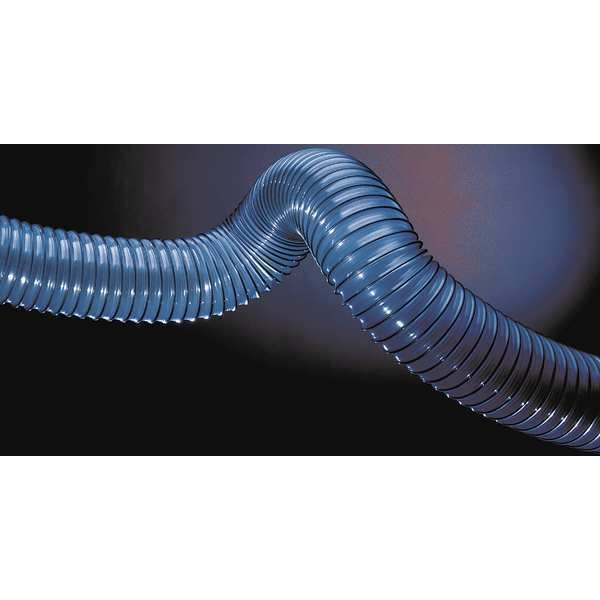 Hi-Tech Duravent Ducting Hose, 6 In. ID, 25 ft. L, PVC 0656-0600-0001