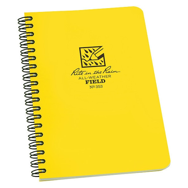 Rite In The Rain All Weather Notebook, Side Spiral, Field 353