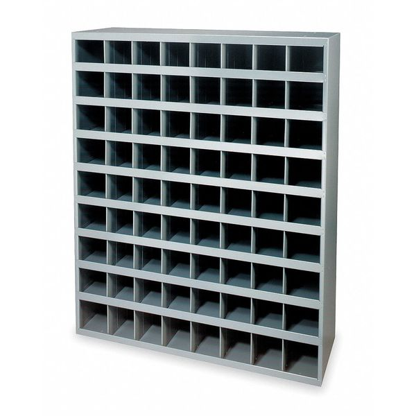 Durham Mfg Pigeonhole Bin Unit,  72 Bins,  33-3/4 x 12 x 42 In. 363-95
