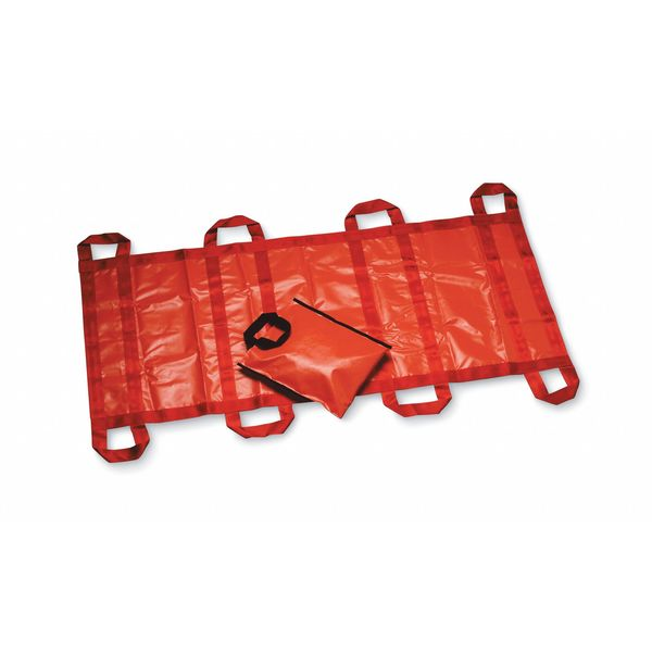 Morrison Soft Stretcher, Up to 2000 lb., 80 In., Org 3030